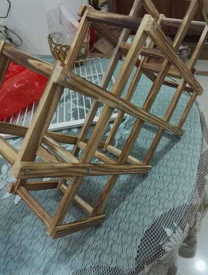 欧式实木质创意折叠红酒架木酒架家居葡萄酒架