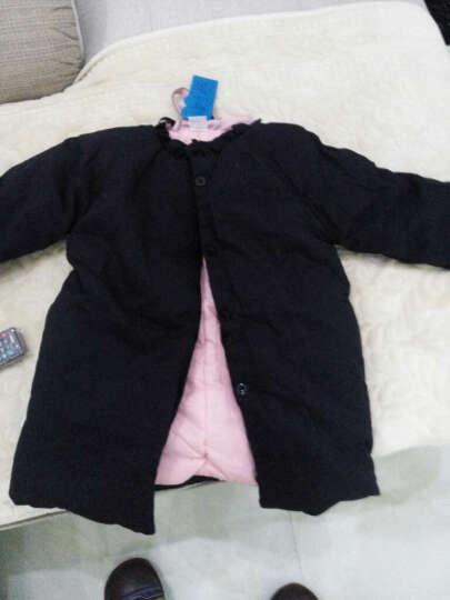 天伦之旅童装秋冬装新款女童外套棉衣中大童棉服 图片色 140 晒单图