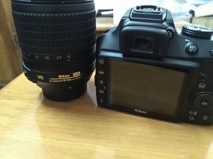 尼康(Nikon) D3400单反数码照相机 入门级套机(AF-P DX 尼克尔 18-55mm f/3.5-5.6G VR防抖) 晒单图