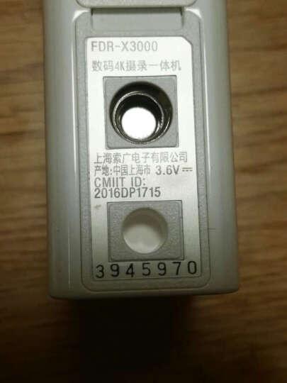索尼(SONY) FDR-X3000 4K 酷拍运动相机/摄像机/60米防水壳 X3000R(背包夹套装) 官方标配 晒单图