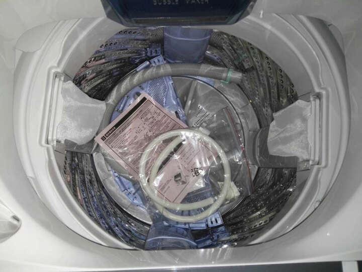 松下(Panasonic)7.5公斤波轮 泡沫净 精洗网板 羊毛洗 节水立体漂 塑封电机 XQB75-H77401 灰色 晒单图
