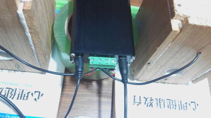 龙麒  家用迷你数字功放机 汽车摩托车改装发烧HIFI 手机电视电脑音箱音响音频功率放大器 黑色含电源 晒单图