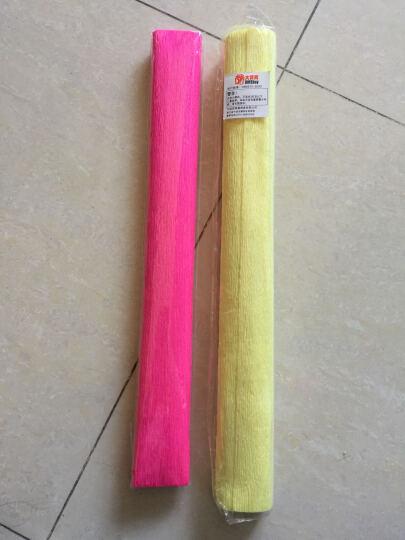大贸商  手工折纸彩纸剪纸彩色纸 省力剪刀 DIY制作材料包 幼儿园手工素材包 卷边纸黄色 晒单图