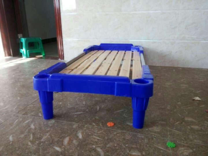 loveforever幼儿园儿童床 塑料木板床叠叠床幼儿园专用床小学生床午睡床 幼儿床批发 170*59*26cm 1张装 晒单图