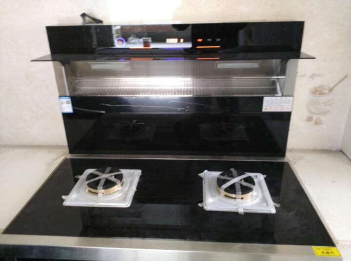 喜姨(XIYI)集成灶双电机翻盖 侧吸式油烟机灶具套装 自动清洗环保灶K8 方头尊享型-双电机 天然气 晒单图