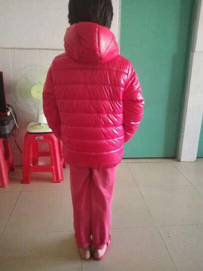 丹杰仕大童装新款5女童棉衣外套6小孩棉袄10加厚12秋冬装13女孩15岁棉服 桔色 160cm 晒单图