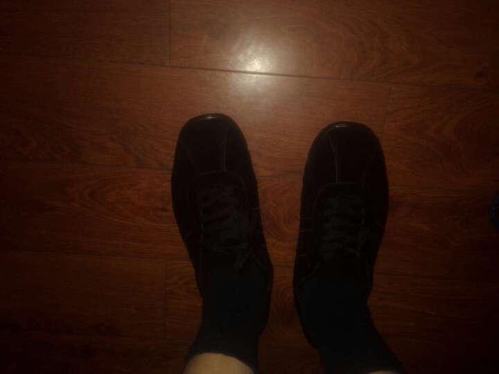 牛登专业K型负跟鞋春秋男女腰椎矫正鞋倒着走鞋真皮地球鞋形体矫正鞋 酒红女款 36 晒单图