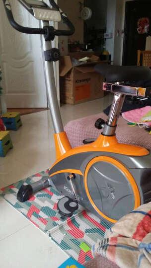 康乐佳动感单车 家健身自行车 室内单车健身器 减肥健身器材K8601 富贵黄 晒单图