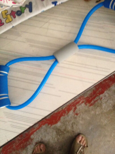 易来易趣锁边瑜伽垫 男女初学者双人185*80加厚加宽NBR防滑健身仰卧起坐垫舞蹈垫儿童垫 粉色 双人183*80*1.0cm 晒单图