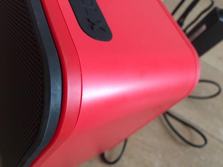 JBL Control X Wireless 有源无线高保真监听音响 蓝牙便携音箱 低音炮  桌面电脑音箱  红色 晒单图