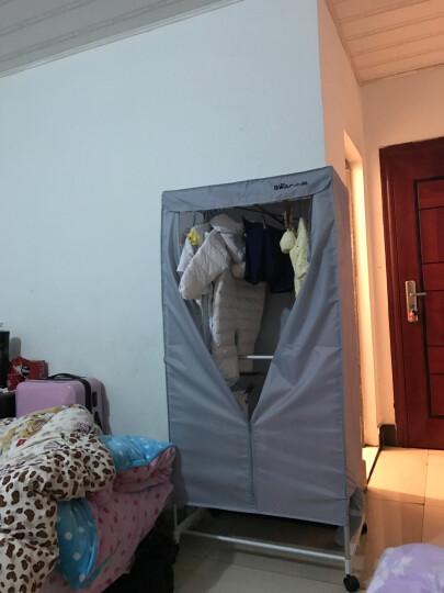 小熊(Bear)干衣机智能烘干机家用衣物杀菌宝宝烘衣器 除湿除螨暖被机HGJ-A08D2 白色 晒单图