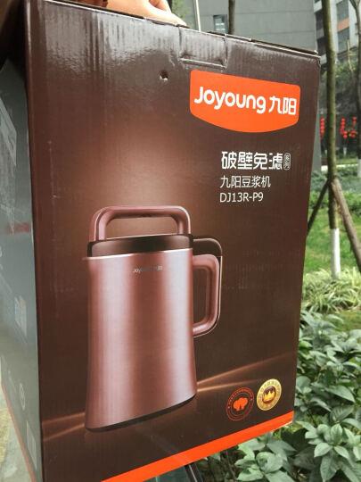 九阳(Joyoung)豆浆机0.9-1.3L破壁机 破壁免滤无渣 家用多功能DJ13R-P9 晒单图