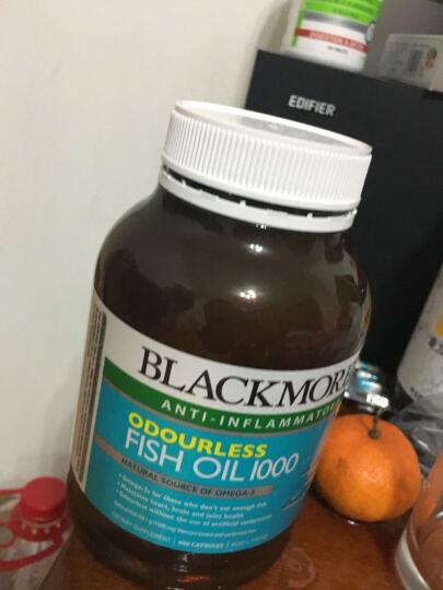 澳洲进口 澳佳宝(Blackmores)深海鱼油软胶囊欧米伽3 无腥味400粒 晒单图