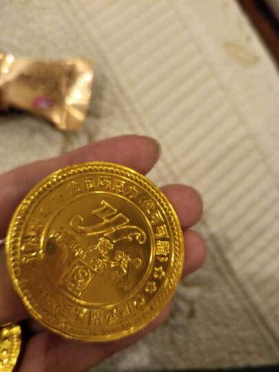 意芙金币巧克力散装500g金条金花生彩蛋足球形巧克力烘焙蛋糕装饰婚庆喜糖零食批发金元 宝(代可可脂) 4种混(大中小金币+金圆宝) 晒单图