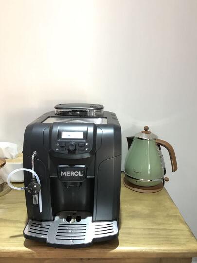 美宜侬(MEROL)全自动咖啡机家用商用意式咖啡机(ME-715 黑色) 晒单图