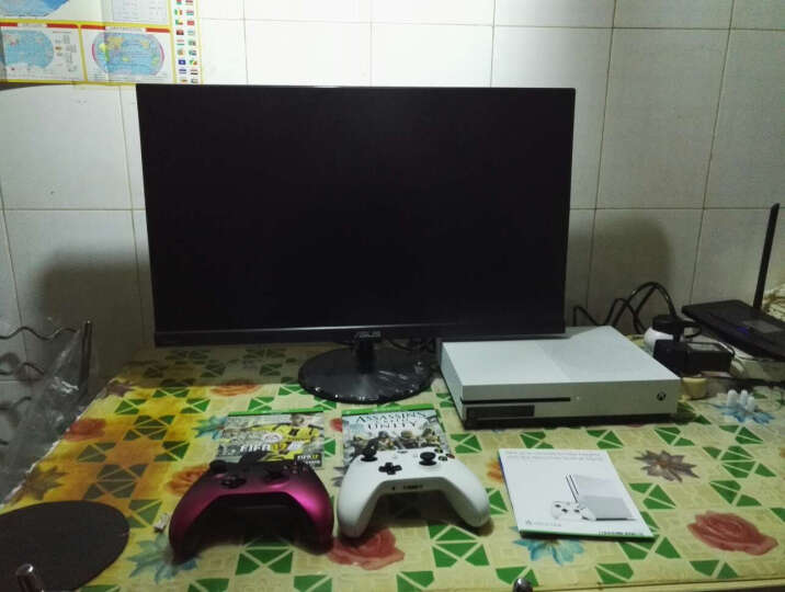 Xbox One S 家庭娱乐体感游戏机 ones主机 2TB 欧版 带战争机器4红色 限量版 无体感 晒单图