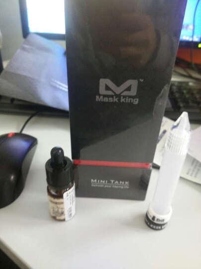 Mask King(MK)电子烟套装美国进口品牌MiniTank蒸汽烟戒烟器大烟雾电子烟 黑色 迷你款 晒单图