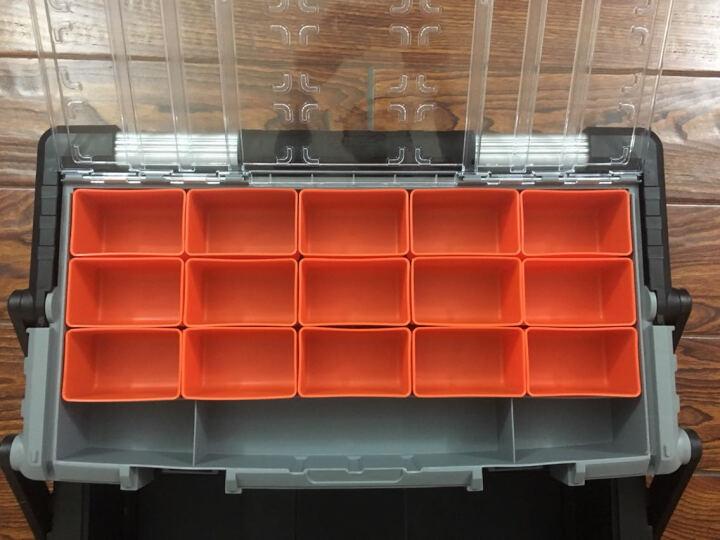 拓为(Tactix) 320300 组合式工具箱 出口德国多功能大号车载塑料工具箱 晒单图