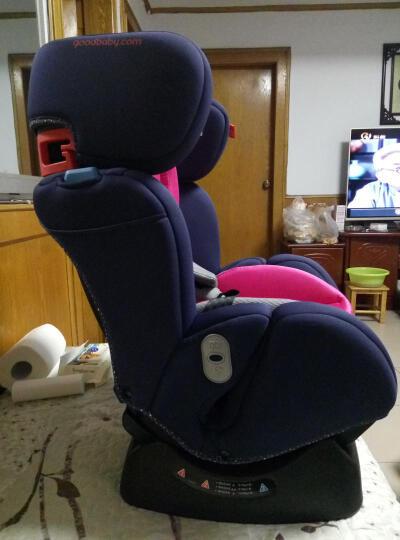 好孩子(Goodbaby)双向安装 欧标 吸能儿童汽车安全座椅CS718-N004 灰色满天星 (0-7岁) 晒单图