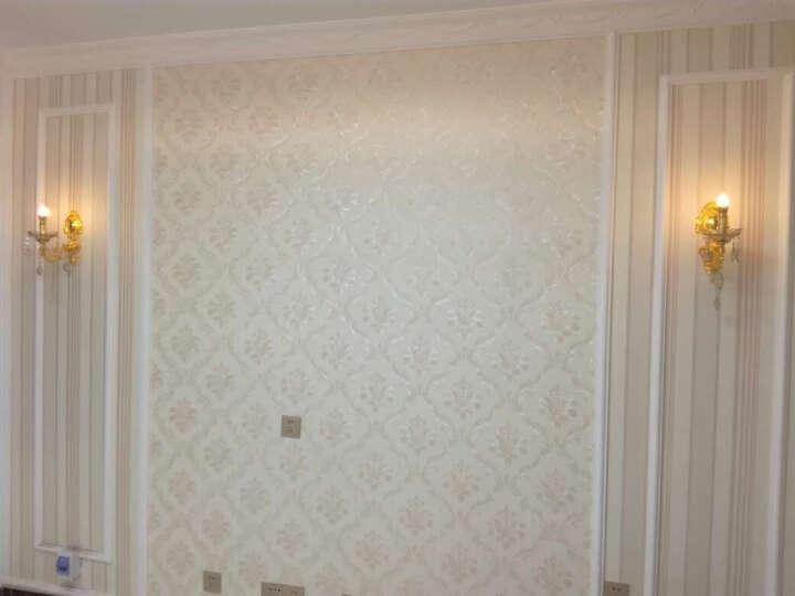 劳伦斯水晶壁灯欧式客厅过道楼梯墙壁灯单双头锌合金壁灯创意卧室床头灯玄关镜前LED灯0022 双头无罩-A款-圣诞树水晶 晒单图