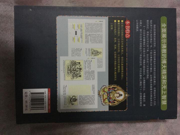 正版一次完全读懂佛经佛教常识了解佛教 心经 金刚经 法华经 华严经 家庭读本易懂 白话图解 晒单图