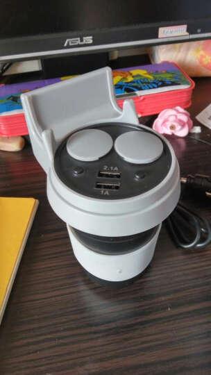 英才星(HSC)车载充电器蓝牙音乐播放器免提电话FM发射器点烟器双USB车载mp3快充 官方标配+二合一线+4G内存卡+读卡器 晒单图
