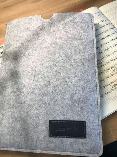 ACE COAT 苹果Air电脑包mac Pro内胆包防摔毛毡包Macbook保护套布袋 随行系列 浅灰 Macbook 12英寸 晒单图