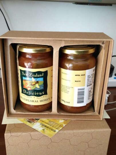 醇美(New Zealand Delicious) 蜂蜜 新西兰原装进口直供 麦卢卡蜂蜜 500g 晒单图