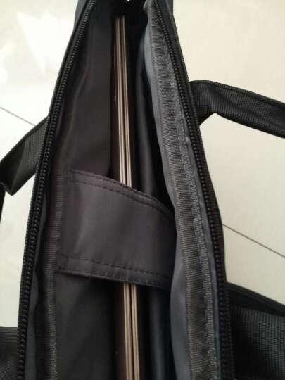 卡陆斯(CARD LU SI)972 笔记本电脑包单肩包手提包商务公文包13.3英寸联想苹果华硕戴尔惠普 黑色 晒单图