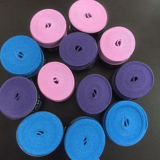 SITAKE 覆膜手胶吸汗羽毛球拍网球 正品防滑带把胶绑带 粉红色 晒单图