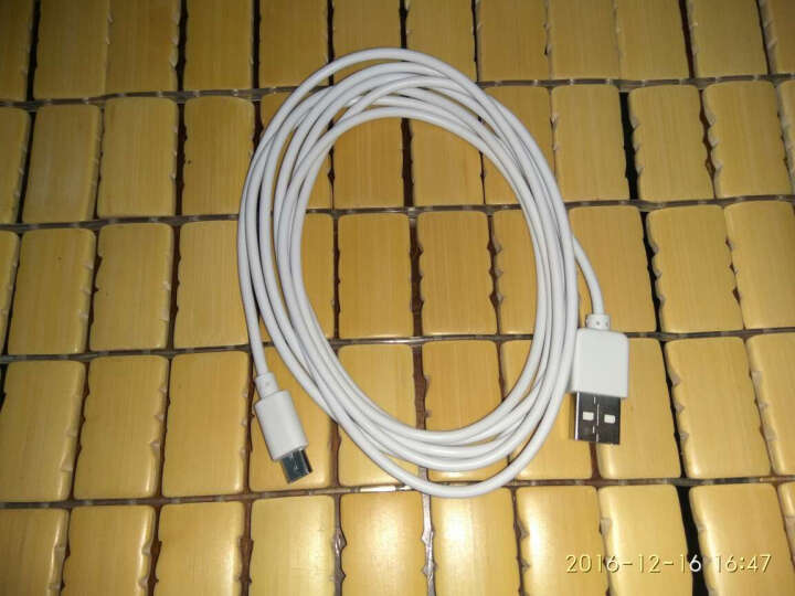 酷波 安卓数据线/手机充电线 1米 金 支持vivo/oppo/华为/小米/三星/魅族/联想/中兴等Micro USB接口设备 晒单图