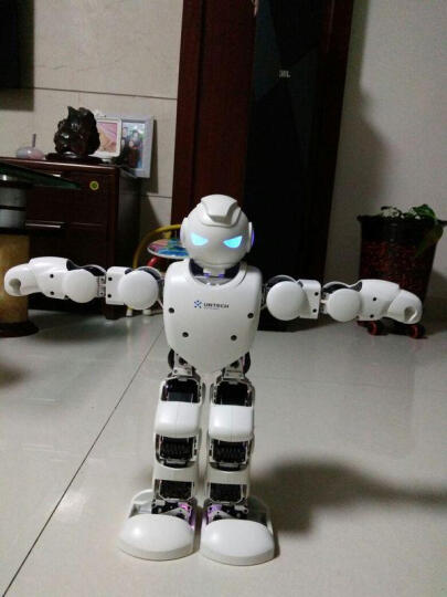 优必选(UBTECH) 【官方授权专卖店】优必选阿尔法Alpha 1P智能机器人玩具 Alpha 1P 晒单图