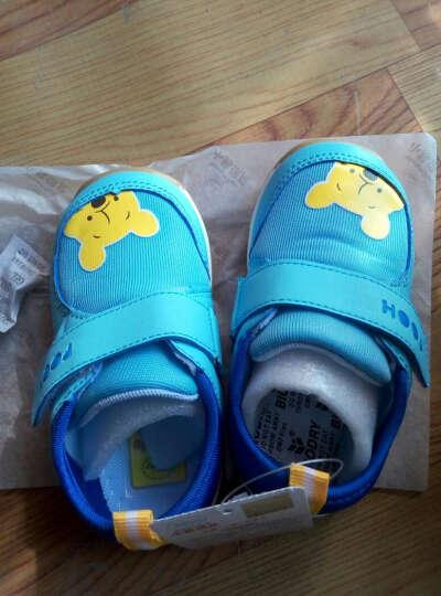迪士尼 Disney 宝宝学步鞋 软底幼儿童休闲鞋单鞋7111西瓜红140mm/内长140mm 晒单图
