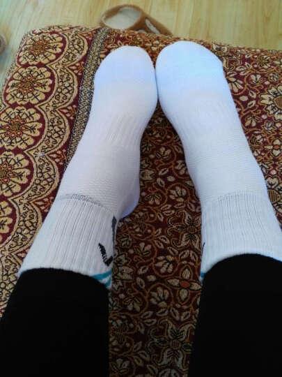 艾迪宝ADIBO 男款 女款羽毛球运动袜子 舒适透气四款四双装 晒单图