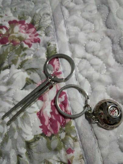 【3免1】情侣钥匙扣情侣挂饰创意造型男女钥匙链韩版个性钥匙圈挂件 结婚礼物 吃饭洗碗一对.. 晒单图