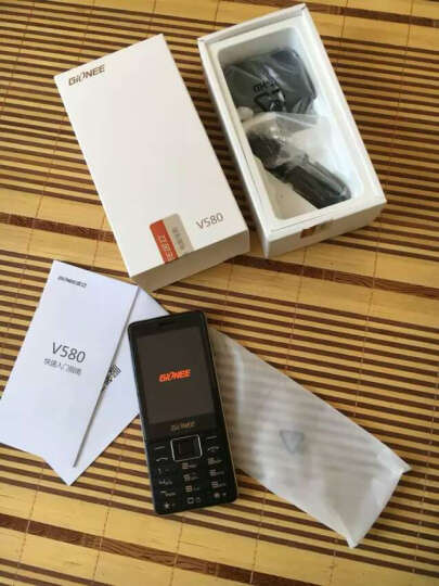 金立 V580 雅致黑 移动联通2G手机 双卡双待 晒单图