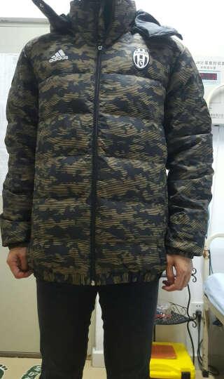 Adidas阿迪达斯男装外套冬季新款足球训练运动服羽绒服M30932 M30988我 黑 AA6782 AC米兰 L 晒单图