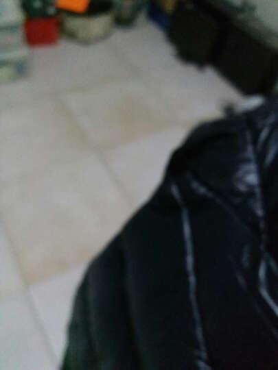南极人(NanJiren)羽绒服男2017秋冬新款纯色男士外套休闲短款连帽保暖轻薄羽绒服 影黑 2XL 晒单图