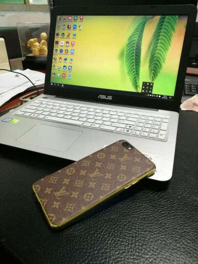 智壳 oppor9s手机壳男女全包硅胶软壳皮纹手机套 适用于oppor9s/r9splus 深棕色R9Splus6.0英寸 晒单图
