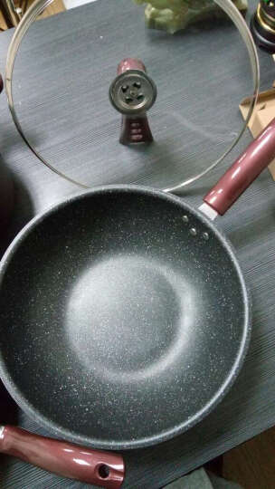 德世朗(DESLON) 陶晶锅具套装 不粘锅无烟炒锅平底煎锅汤锅三件套 陶晶钻石套装B 晒单图
