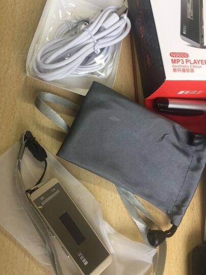 炳捷N9000 随身听mp3 学生 迷你有屏 运动便携mp3跑步 hifi无损音乐播放器 金色8G 晒单图