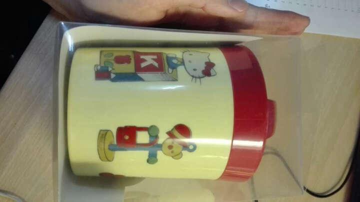 斯凯达(skater)复古hello kitty可机洗便当盒打包盒450ml 晒单图