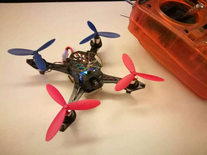 澄星Tiny迷你穿越无人机 DIY组装四轴飞行器航拍遥控飞机可充电可拆卸电池自由搭配遥控器 Tiny80裸机版(免DIY) 晒单图