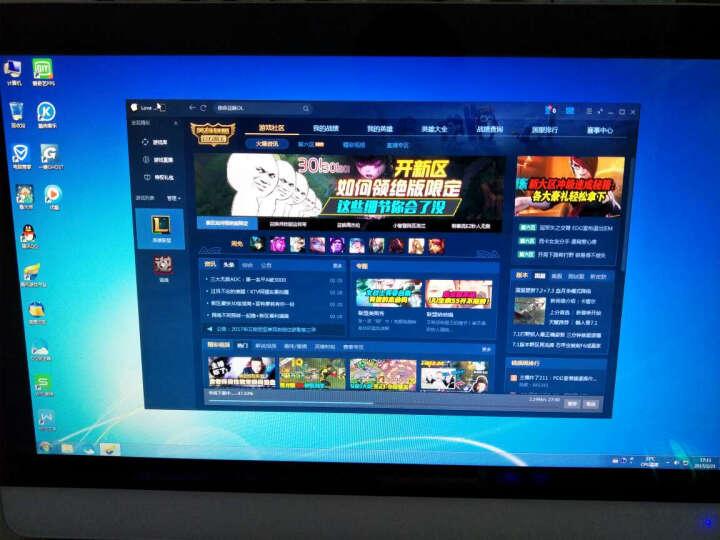 狄派 一体机电脑intel酷睿i5 i7 办公家用娱乐游戏宾馆台式机电脑 酷睿i7+8G+120G固态 21.5 英寸 晒单图