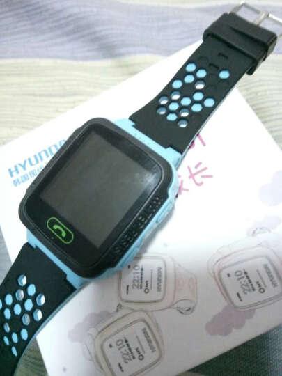 现代 智能手表儿童智能插卡电话手表 定位手表学生智能触屏手表防丢手环 升级款蓝色 晒单图