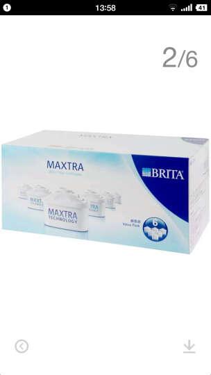 碧然德(BRITA)过滤净水器 家用滤水壶 净水壶 Marella 金典系列 2.4L(白色) 晒单图