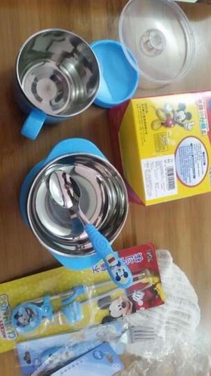 迪士尼(Disney) 迪士尼婴儿碗儿童餐具宝宝双耳碗汤勺叉子练习筷子套装小孩不锈钢辅食碗 苏菲HC2078碗+叉+勺+凯迪筷 晒单图