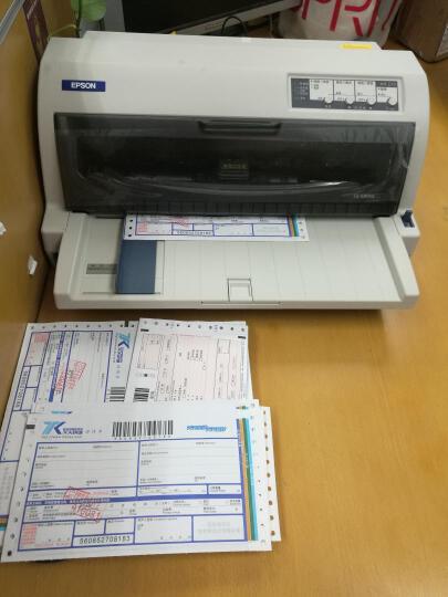 爱普生(EPSON)LQ-680KII 针式打印机(106列平推式) 晒单图