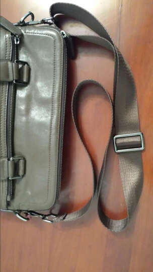 包包带子男包肩带背带配件单肩包斜挎包背包带子电脑包带 深咖色宽3.8cm+枪色钩扣 晒单图