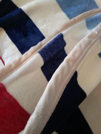 天池茗品 毛毯盖毯冬天加厚珊瑚绒毯子毛毯被单人空调毯双人冬季法兰绒毯床单毛毯垫保暖小午睡毯 小鹿 180*200cm加厚款380克/平方 晒单图